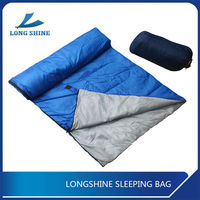 Comfortable Envelope Sleeping Bag With Hollow Fiber Filling For Cold Weather