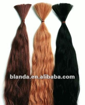 "New ISIS Made for Human Hair Braid ~Super Bulk 22-24"" Wet And Wavy color"