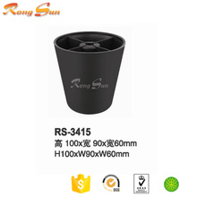 Cheap furniture bed plastic feet & cabinet plastic feet for sale & plastic chair feet