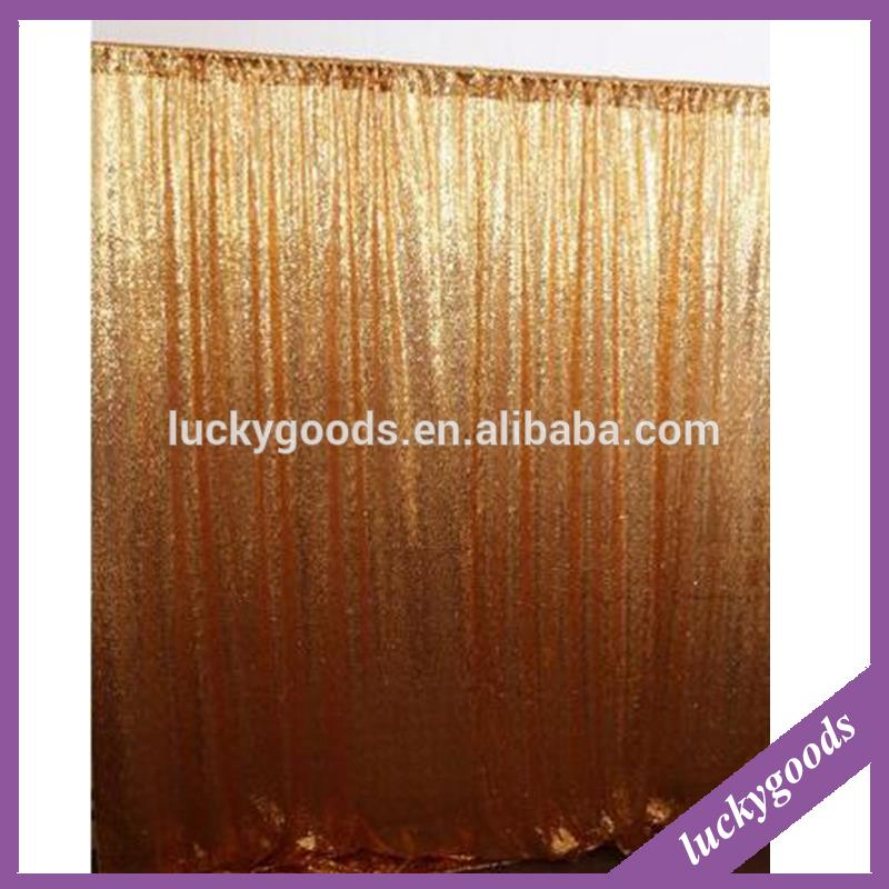 wedding party background glitter drapes for weddings