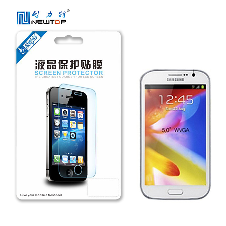 Newest High Transparency Top Quality Anti-scratch Mirror Screen Protective Film For Samsung 9080(Accept PayPal)