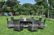 outdoor furniture best table and chairs rattan 8 seaters dining furniture