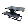 Height Adjustable Ergonomic Folding Office Sit Stand Laptop Desk