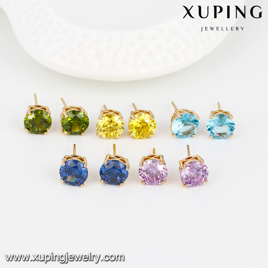 26881 -Xuping Jewelry Hot Sale Fashion 18K Gold Plated Stud Earring