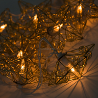 New Design Store Ddecoration Led Star String Light For Arts And Crafts
