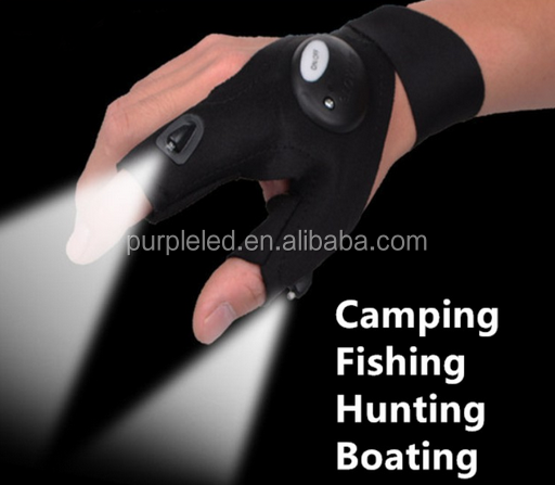 LED night fishing <strong>glove</strong>