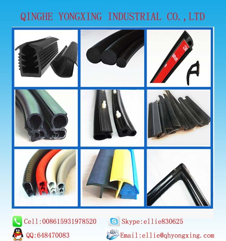 flocking rubber seal for auto