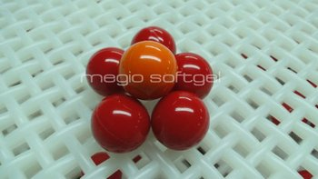 0.68 caliber cheap Oil Red Paintballs 2000 Round