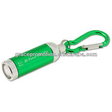 Aluminum Mini LED Key Light w/Carabiner