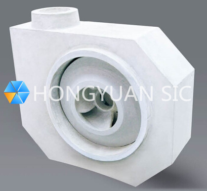 SiC Silicon Carbide Ceramic Pump Impeller Slurry/Desulphurization/Chemical Pump Anti-abrasion/wear/corrosion Impeller
