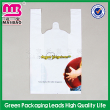 Factory Wholesale Price Custom Printed Alibaba Store Thank You Plastic Vest Carrier Bags