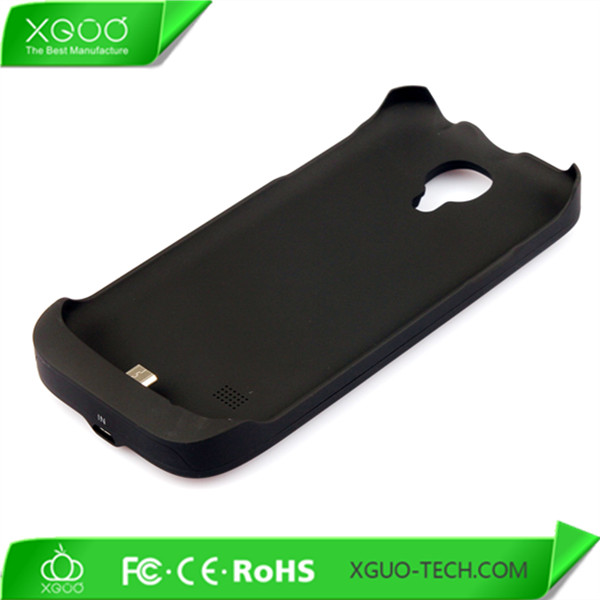 Rechargeable battery case for galaxy s4 mini charger case