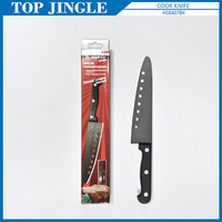 Round hole design kitchen cooking cheap knife