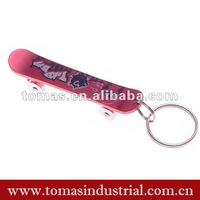New Promotional Products Fancy Skid Shaped Bottle Opener Key Ring
