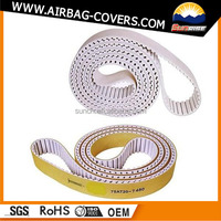 Rubber auto poly v belt fan belt (PH PJ PK PL PM DPK available)