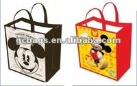 2012 BEST SALES pp non woven shopping bag with laminated