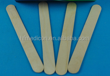 Good quality wooden Disposable tongue depressor for hospital