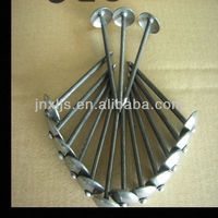 umbrella head galvanized high quality roofing nails