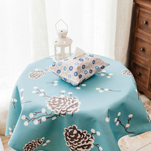 Floral Trade Show Table Cloth Custom Print