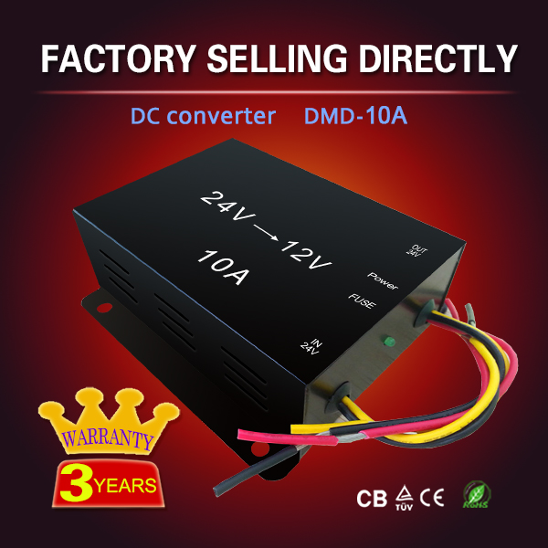 High efficiency Compertitive price 140w 10A 24v dc to 19v /12v dc converter