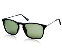 4187 Unisex Vintage Polarized Sunglasses (Black) M.