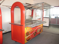 New sale truck fast food/mobile food truck trailer
