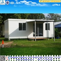 prefabricated granny flat price/modular container house/modern prefab kit homes