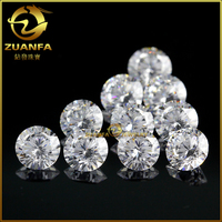 top quality VVS lab diamond white H F color wholesale moissanite white diamond