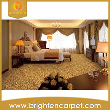 Luxury decoration 80%wool 20%nylon modern hotel carpet