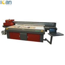 Automatic multicolors DX5 / GH2220 / GEN5 heads digital ceramic tiles inkjet uv flatbed printer