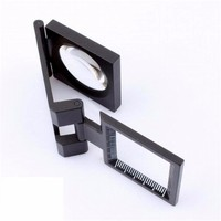 8X foldable plastic Magnifiers for printing