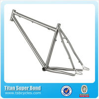 "Cheap price 26"" titanium bike frame mountain bicycle frame TSB-STM0901"