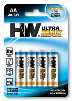 Ultra Power max LR6 AA 1.5V AM3 Alkaline batteries High Powe dry Battery