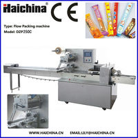 High Quality DZP250C Horizontal Chocolate Bread Packaging Machine