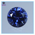 The Charm Round-shaped light blue cubic zircon stone