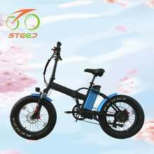 2018 Factory wholesale folding electric mini exercise bike 48v lithium battery electric bicycle 500w