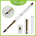 2017 BQAN High Quality Gold Ferrules UV Gel Nail Brush Easy Metal Handle French Brush