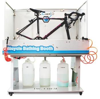 BICYCLE BATHING BOOTH