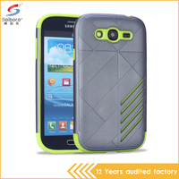 alibaba express tpu pc combo crash-proof hard case for samsung galaxy grand i9082 back cover waterproof case