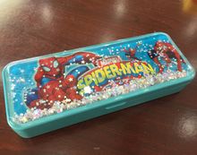 Profesional OEM factory and customized pokemon durable Polypropylene Plastic pencil case with button