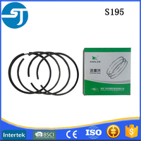 China supplier engine parts S195 spare parts diesel piston rings