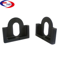 black anodized aluminum 6061 6063 CNC machining parts, CNC machining service