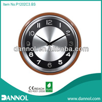 Home Decoration Modern 12 Inch Quartz Plastic Wall Clock Timepiece/digital 24 hour clock