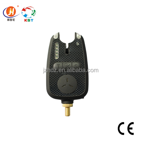 New Fashion Style High Quality Single Black Electronic Wireless Fishing Bite Alarm