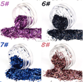 Super Luster Nail Art Glitter strip for decoration