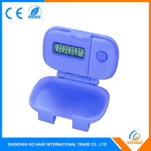 Best Quality Promotional Plastic Keys Walking Fitness Digital Pedometers