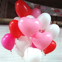 outdoor inflatable heart shape balloon christmas decoration