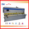 hand lever shearing machine , cnc shear machine , QC12K-16x3200 , manual shear cutting machine