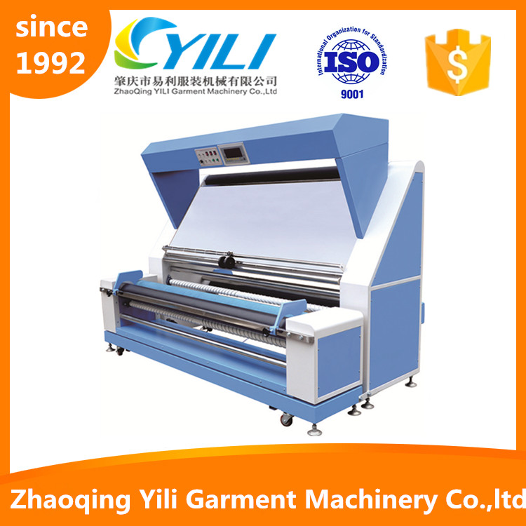 yarn length measuring machine meter counter fabric inspection and rolling machine