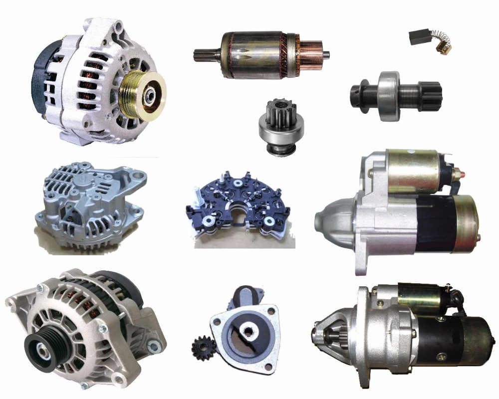 ALTERNATOR & STARTER TRUCK PARTS FOR JAPANESE & EUROPEAN TRUCKS